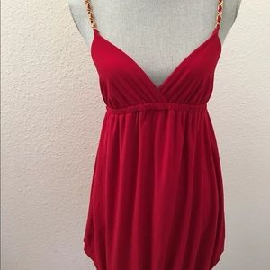 FREE Forever 21 red dress Junior Large Women's XS